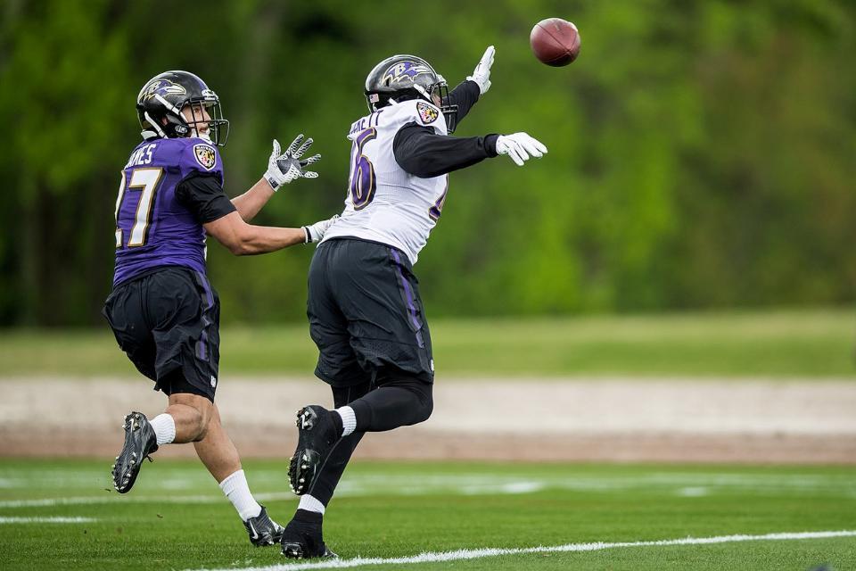 Cavellis Luckett/Ravens.com